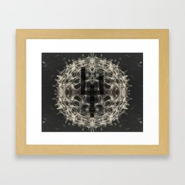 Zeichen 2.1 Framed Art Print