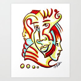 """""""Follow Me"""" Art Print"""