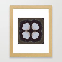 Living Clover Framed Art Print