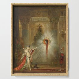 The Apparition by Gustave Moreau Serving Tray