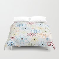 teacher Duvet Covers featuring School teacher #6 by Juliana RW