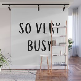 So Very Busy Wall Mural
