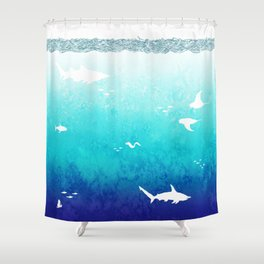 I Am The Sea Shower Curtain