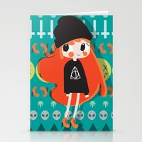 grunge Stationery Cards featuring Grunge by Irene Dose