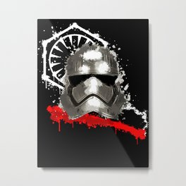 Captain of the New Storm Metal Print