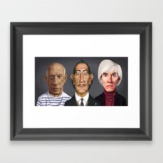 Great Artists Framed Art Print