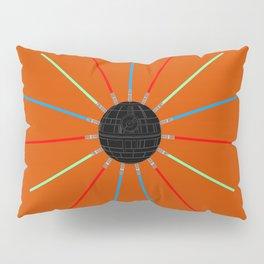 A twinkling Death Star Pillow Sham