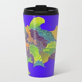 Frogfish Relief Print Travel Mug