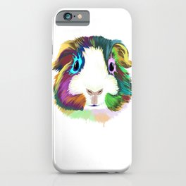 Splash Guinea Pig iPhone Case