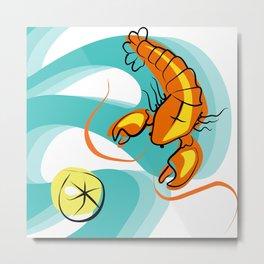 Rock Lobster Metal Print