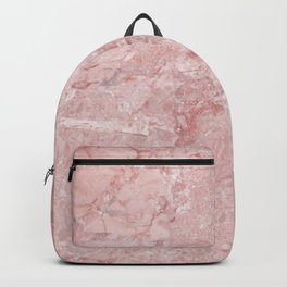 Blush Pink Marble Backpack