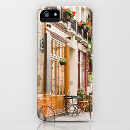 On Ile Saint-Louis iPhone Case
