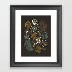 Mystical Forest (Greens) Framed Art Print