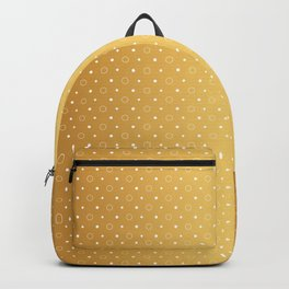Art Deco, Simple Shapes Pattern 1 [RADIANT GOLD] Backpack