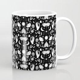 Lotus and Moths Coffee Mug