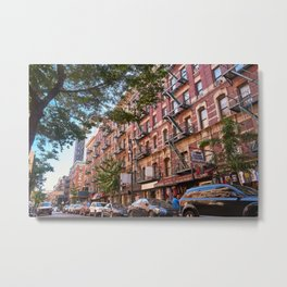 Lower eastside new york Metal Print