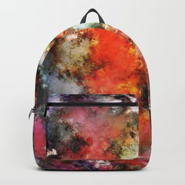 See the flames Backpack