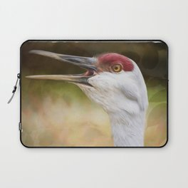 Bird Art - Look Who's Talking Laptop Sleeve