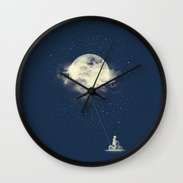 THE BOY WHO STOLE THE MOON Wall Clock