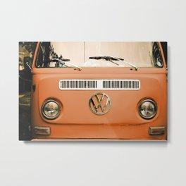 Summer of Love - Celosia Orange Metal Print