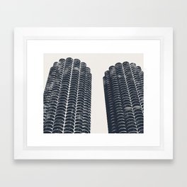 Chicago Architecture, Marina City, Chicago Wall Art, Chicago Art, Chicago Photography, Canvas Art Framed Art Print