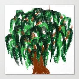 tree of life minimal sketch Canvas Print