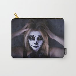 skull make up 1  Carry-All Pouch