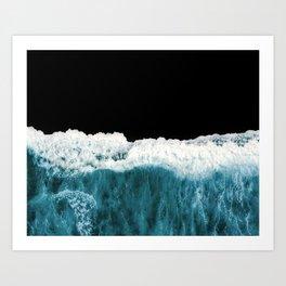 Deep Black Sea Art Print