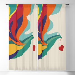 Love Message Blackout Curtain