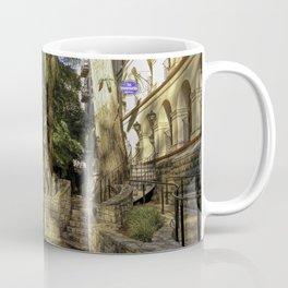San Antonio Riverwalk La Mansion Hotel And Bridge Coffee Mug