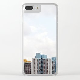 Blocks Clear iPhone Case