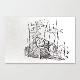 The Symbol of Eternal Love Canvas Print