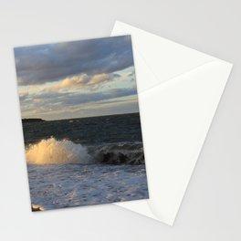Autumn Crashing Waves Stationery Cards