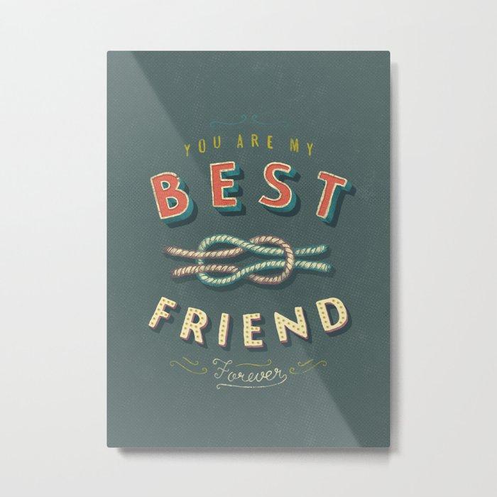 Best Friend Metal Print