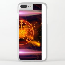 Pentagram Clear iPhone Case