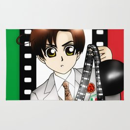 Chibi Cinema-Romano Rug