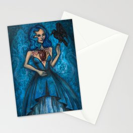The Strength Of An Open Heart Stationery Cards