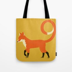 9 Tailed Fox Tote Bag