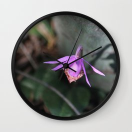 Up the Trail-head Wall Clock