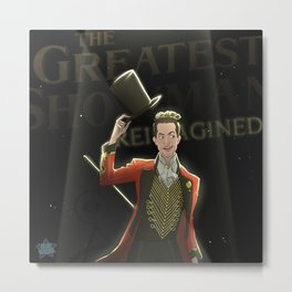Panic! at the Greatest Show Metal Print