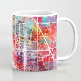 Midland map Michigan MI 2 Coffee Mug