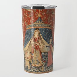 The Lady And The Unicorn Travel Mug