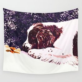 Spaniels Gift Wall Tapestry