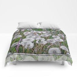 SEEDS OF DANDELION Comforters
