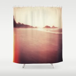 Technicolor Beach Dreams 2 Shower Curtain