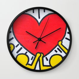 Keith Haring Wall Clock