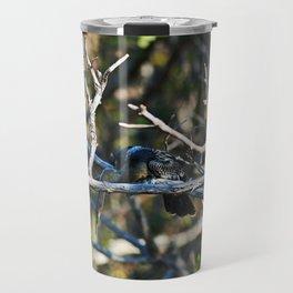 Anhinga on a Branch Travel Mug