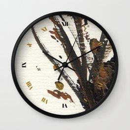 In Limbo - Sepia I Wall Clock