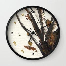 In Limbo - Sepia I Wall Clock