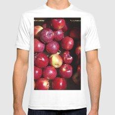 Apple Harvest! White Mens Fitted Tee MEDIUM